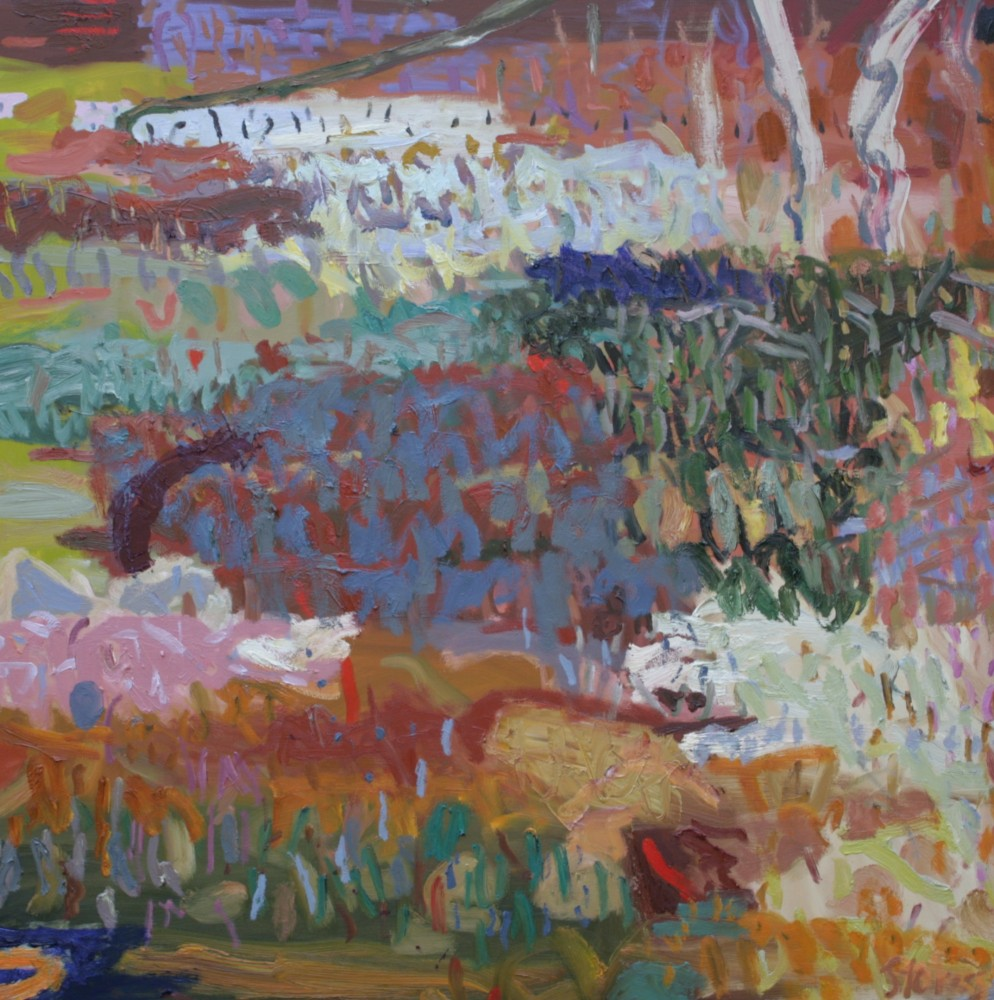 Mangroves 3 SOLD by Sally Stokes
