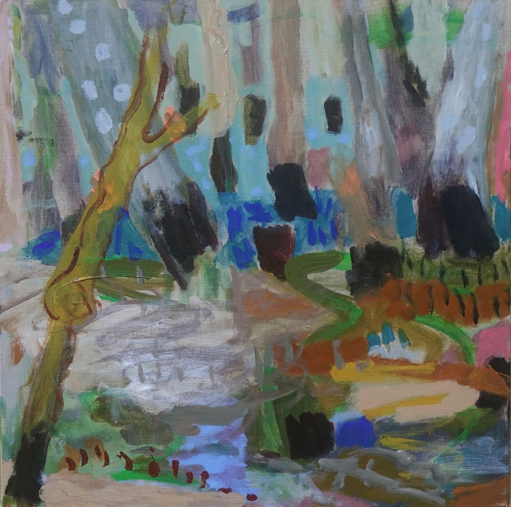 Cathedral mangrove (SOLD) by Sally Stokes