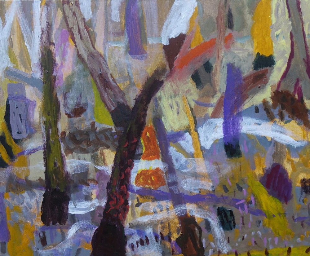 The sacred mangroves (SOLD) by Sally Stokes